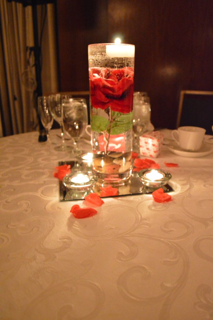 Homemade centerpiece for under getting creative from