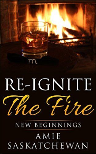 Re-ignite the Fire: New Beginnings Kindle Edition  A romantic getaway is exactly what Ashleigh and Cal need to reignite the fire that left their marriage. But how brightly will the flames burn when they are invited to the cabin by the cryptic Matthew and his obedient Bella?   The first book of the 'Re-ignite the Fire' series, a story of love, lust and exploring new sensations. An adventure into domination and bondage might be just the unexpected spark this couple needs to burn with ...
