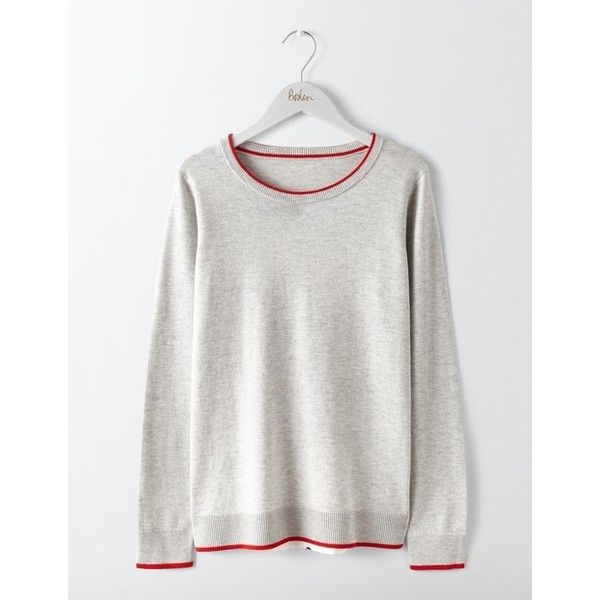 Boden Eva Woven Mix Sweater ($78) ❤ liked on Polyvore featuring tops, sweaters, white polka dot top, braided sweater, polka dot jumper, boden and white jumper