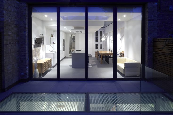 #Lightwell to basement   Private House   London SW6