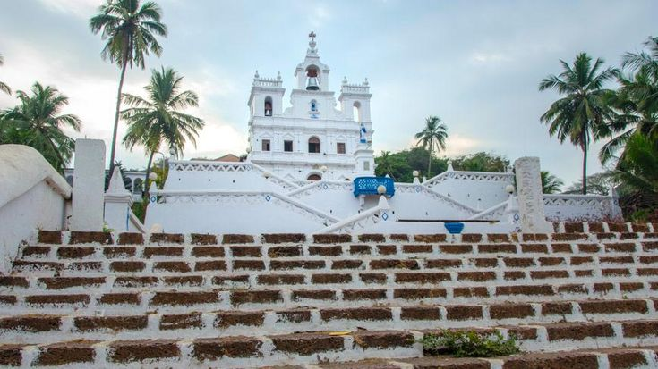 Perhaps Goa's most impressive church: the Church of Our Lady of The Immaculate Conception is getting on for 500 years old! https://www.tripzuki.com/hotels/panjim-inn-goa/