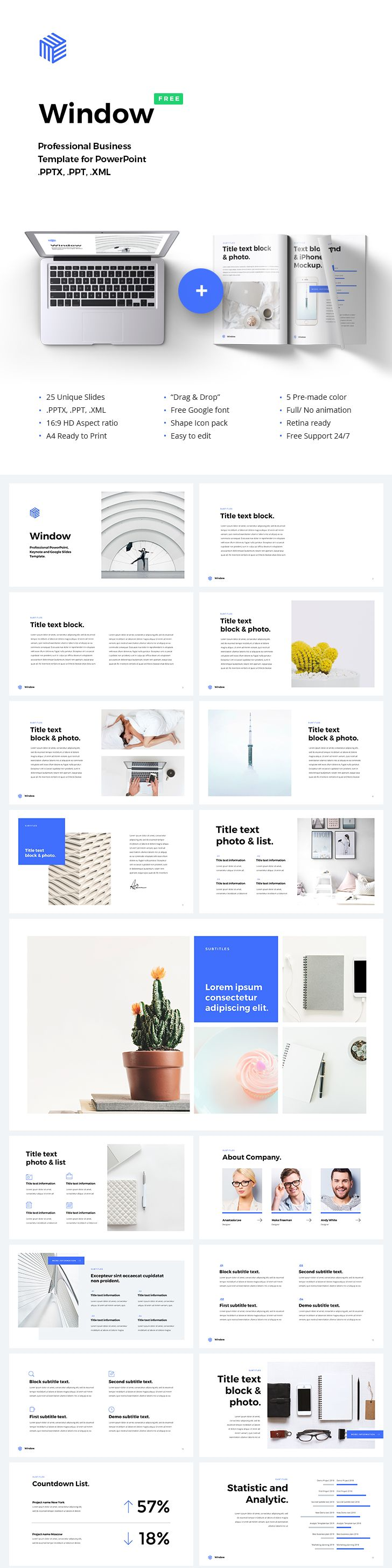 510 best video templates free images on pinterest page layout free powerpoint template alramifo Images
