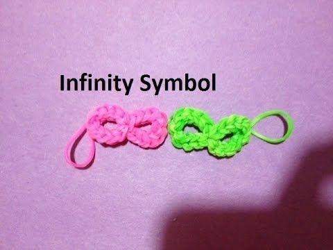 How to Make an Infinity Symbol on the Rainbow Loom - Original Design