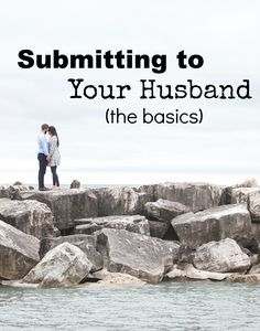 Submitting to our husbands in marriage can be tough! Click through to read some of the basics I have been learning on how to submit to my husband!