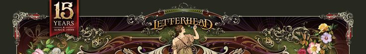 Letterhead Fonts / LHF Engraver's Ornaments/ Old Fashioned Scrolls