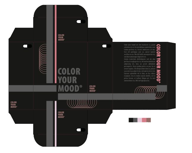 """Nieuwsgierig: nr. 2 van de 3 beste kleurpaletten mits aanpassingen. Hierbij heb ik voor de """"nieuwsgierige kleur"""" een roze tint gekozen. Ik koos voor een lichte kleur, omdat """"nieuwsgierig zijn"""" iets onopvallend is. (bv. luistervinken omdat je meer wil weten)."""