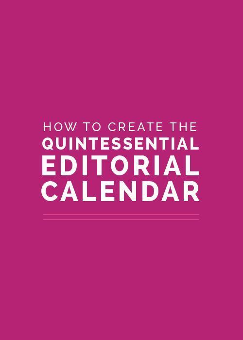 Looking to organize in 2016? Start now with this article on creating an editorial calendar!