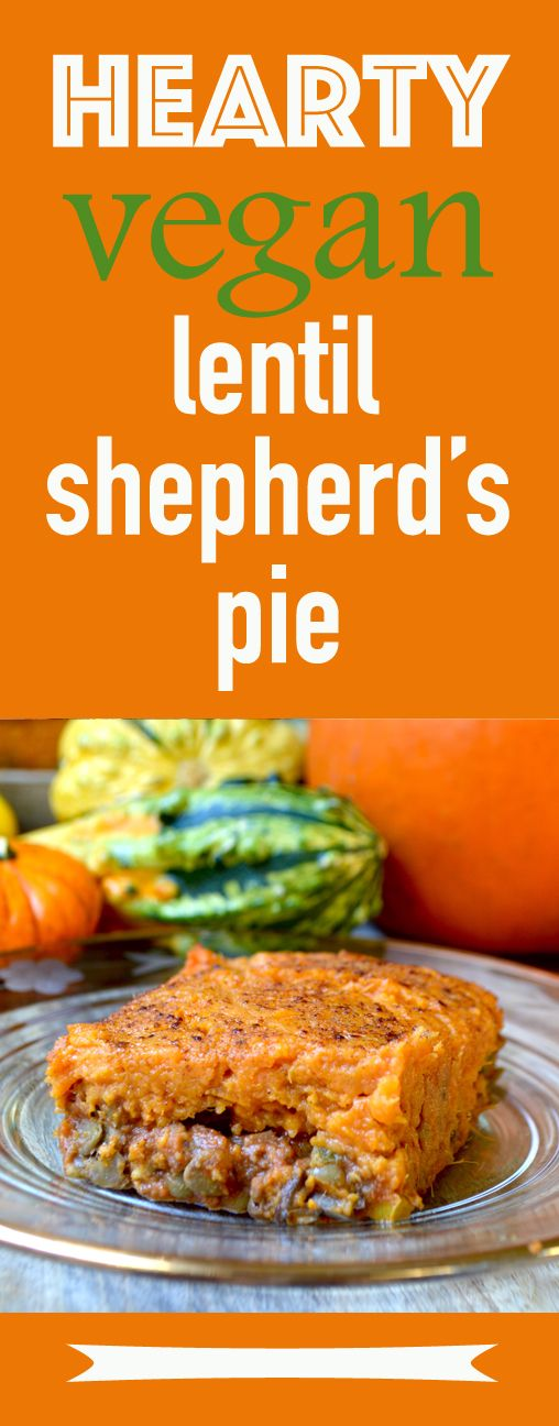This amazing vegan Shepherd's Pie is a hearty alternative to the real deal. Made with sweet potatoes and lentils and a savoury tomato broth sauce.