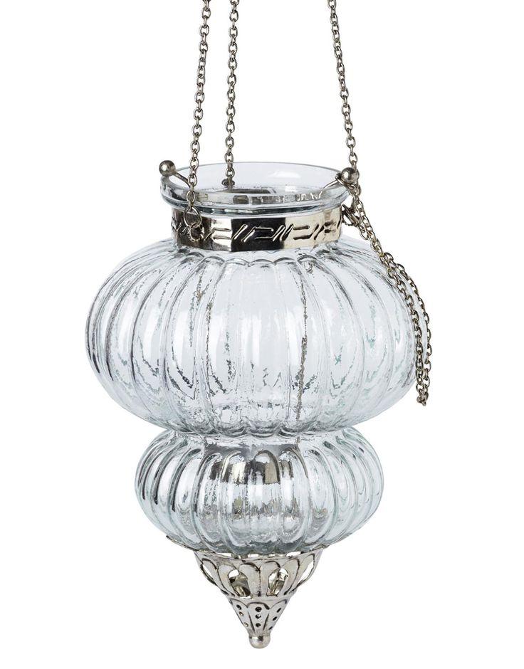 MALIKA ljuslykta klar | T-light hanging | Ljus & lyktor | Inredning | INDISKA Shop Online