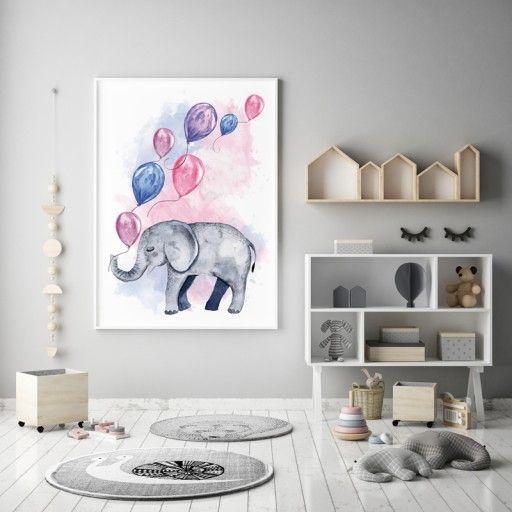 Pokój Dziecka Plakaty Obrazy Dziecięce Zwierzaki