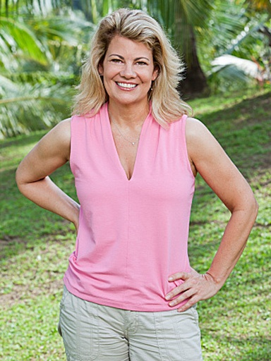 """Survivor: Philippines"" Lisa Whelchel. Guess I'll have to watch it. Haven't seen survivor since the first two seasons."
