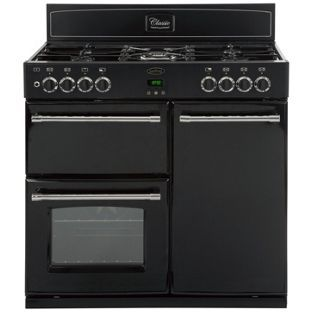 Buy Belling Classic 90DFT Dual Fuel Range Cooker - Black at Argos.co.uk, visit Argos.co.uk to shop online for Freestanding cookers