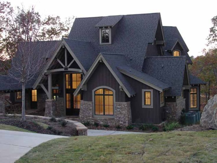 Eplans Craftsman House Plan - Timber Craftsman Style Home with Towering Views - 5620 Square Feet and 4 Bedrooms from Eplans - House Plan Code HWEPL14260