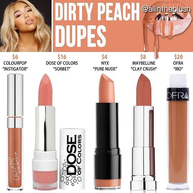 #DIRTYPEACH DUPES ARE HERE  Please leave me your requests in the comments! …