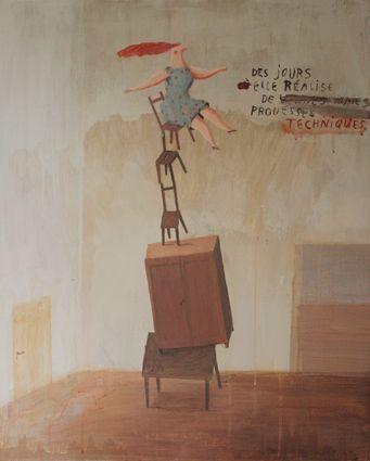 peinture : Frederique Bertrand