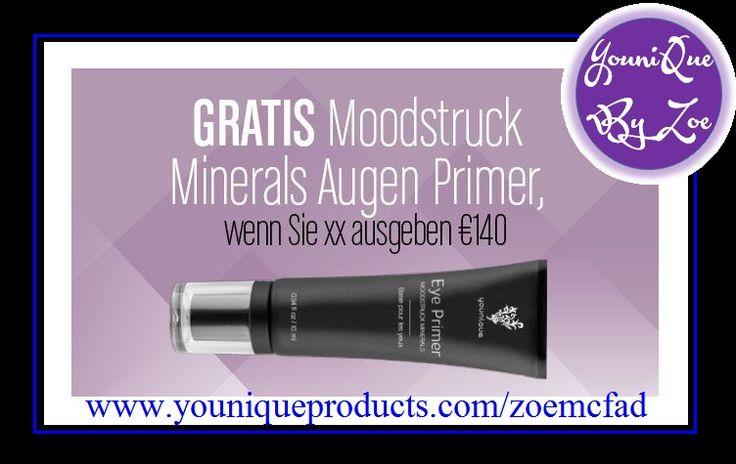 November Kudos // 1. - 30. November 2015 GRATIS Moodstruck Minerals Augen Primer, wenn Sie xx ausgeben €140 #germany #deutschland #younique #eyeprimer #moodstruck #mineralEYEprimer #berlin #bilden #makeup