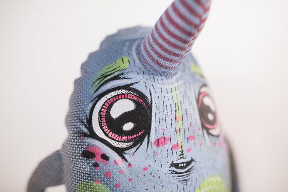 Cute Unicorn Monster Eyecandy Monsters / by eyecandymade on Etsy