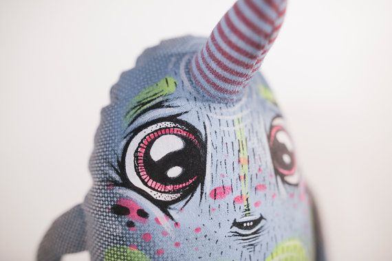Cute Unicorn Monster Eyecandy Monsters / by eyecandymade on Etsy