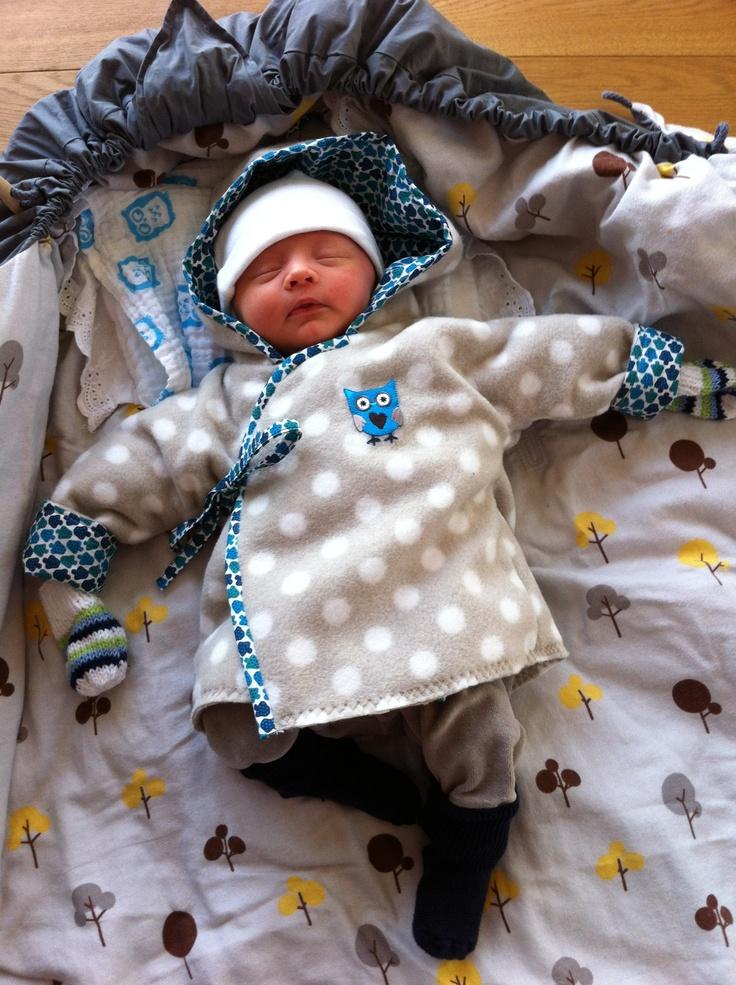 Baby fleece jakke