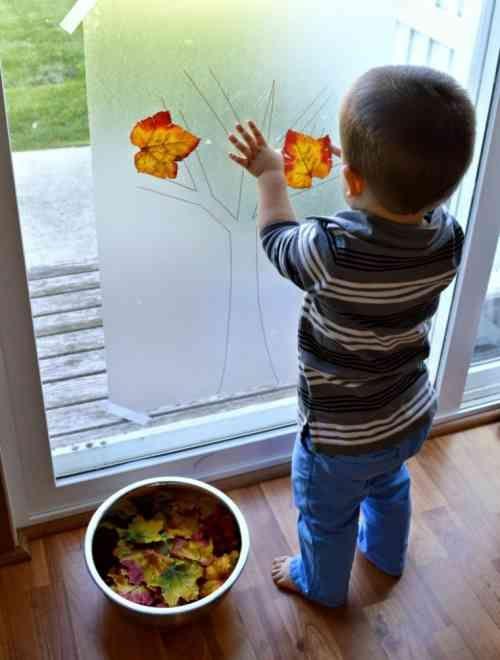 activité créative pour enfant d'automne Plus