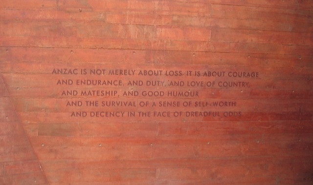 The ANZAC legend was poignantly put into words by Sir William Deane, Governor-General of Australia on ANZAC Day 1999.