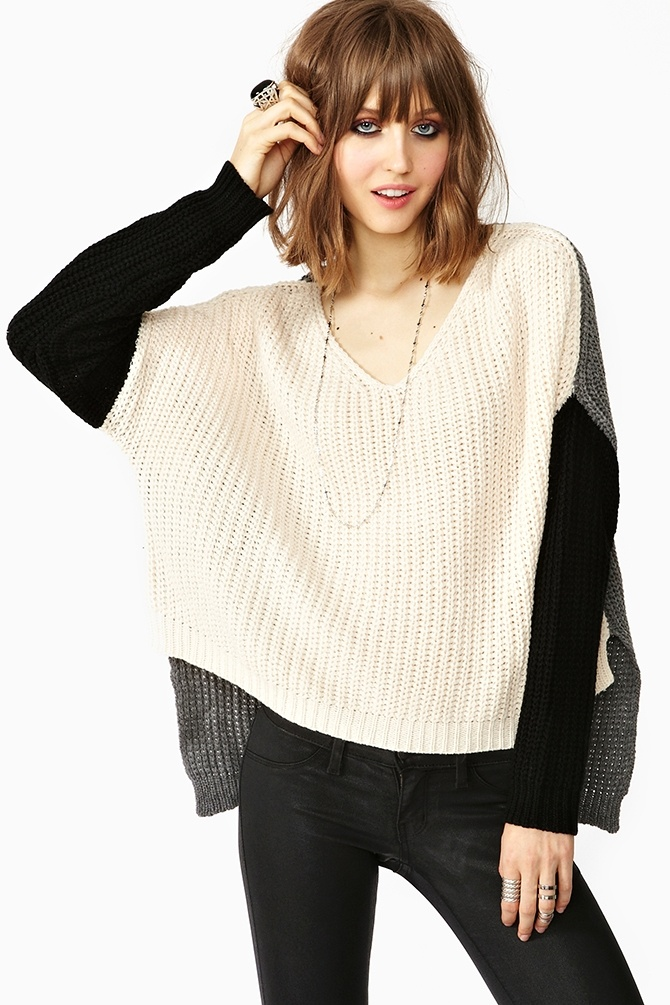 Cambridge Knit in Colorblock