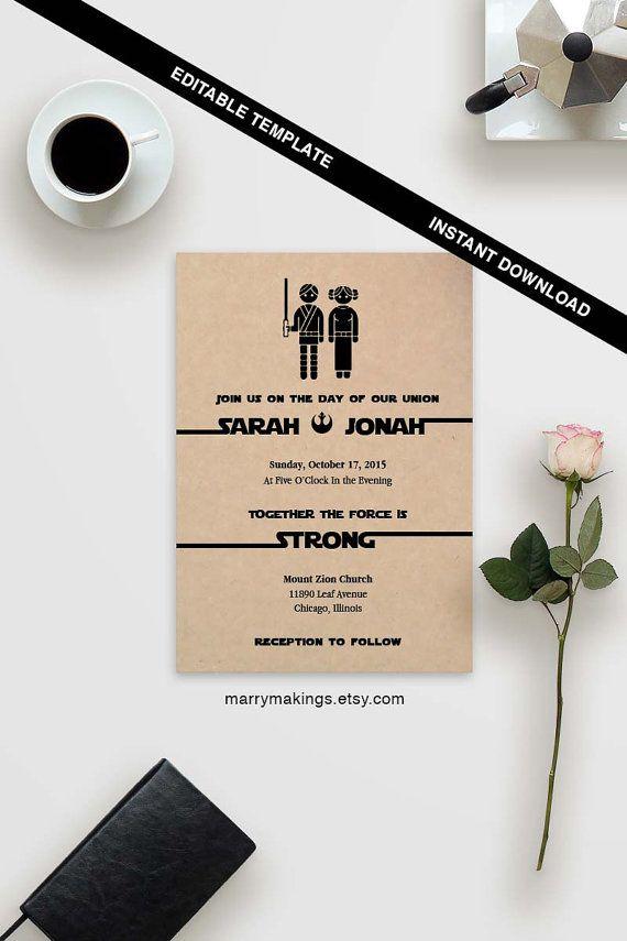 Wedding Template  Printable Wedding 15  Editable by MarryMakings