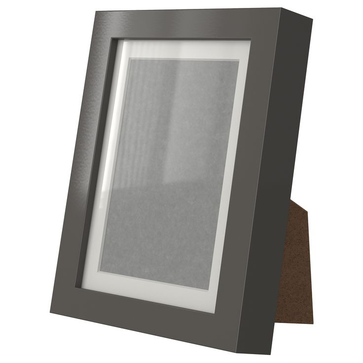 Ribba frame high gloss gray ikea decor ideas - Ikea riba ...