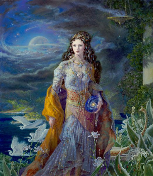 ISIS, Goddess of the Universe - Kinuko Y. Craft