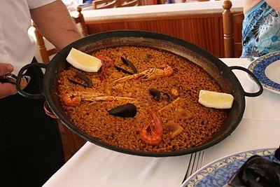 パエリア - スペイン Spain