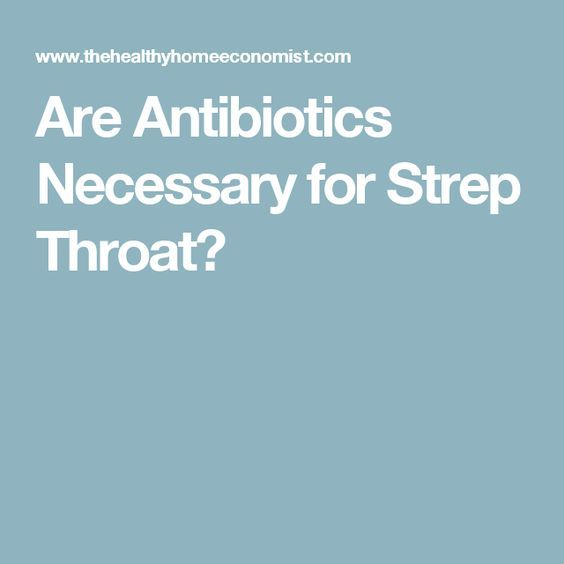 What Antibiotic For Strep Throat With Penicillin Allergy