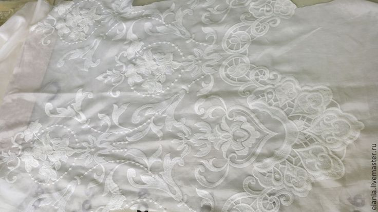 Купить 6 цветов. Шитьё на шелковом батисте. Италия - платье, сарафан, сарафан летний, ткань