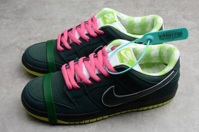 58e6ac8f9ac Nike SB Dunk Low Concepts Green Lobster BV1310-337 in 2019