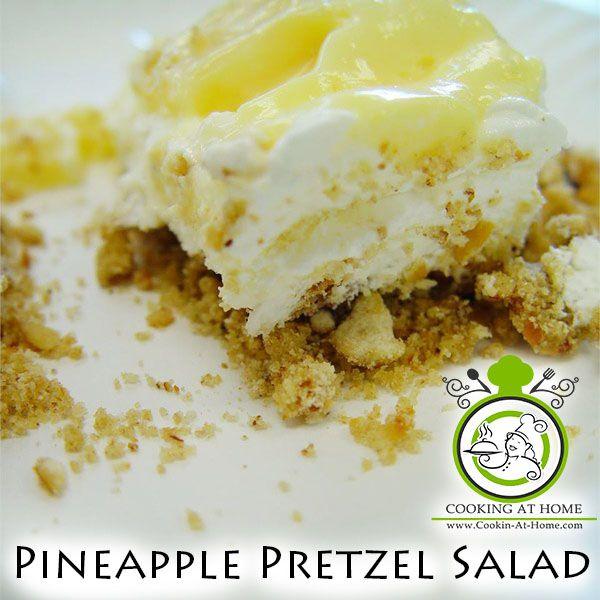 Cooking at Home: Pineapple Pretzel Salad