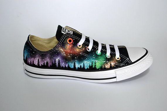 Rainbow Converse, Northern Lights, Galaxy Converse