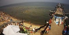 Kamera Morze, molo i plaża - Międzyzdroje