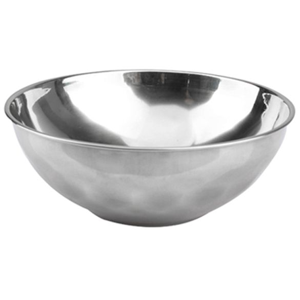 Classic Anti-Rust Stainless Steel Smooth Rolled Edge Resistant Safe Kids Bowl BS     E2shopping