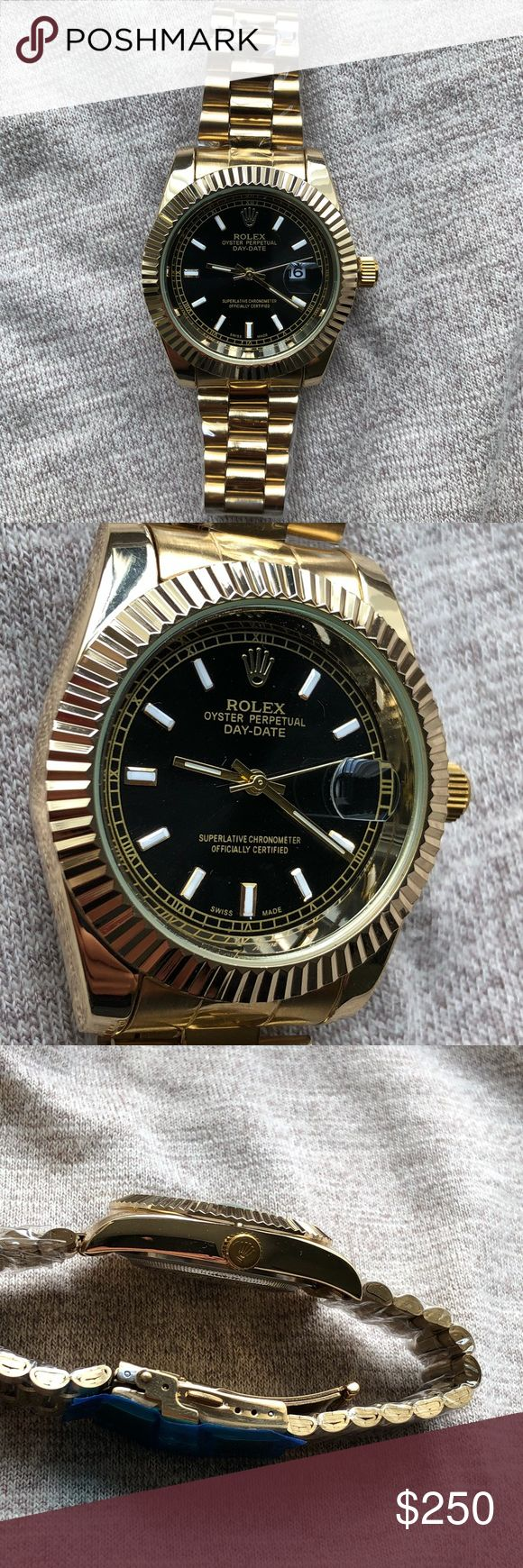 New Rolex DateJust II Watch Brand New Rolex DateJust II Men's Watch   This is a 1:1 SCALE PERFECT.   R. E. P.  L. I. C A Exactly like the original   Quartz moment   Same day shipping Rolex Accessories Watches