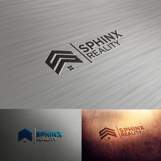 design a realestate logo for sphinx reality by Pendongane Simbah.