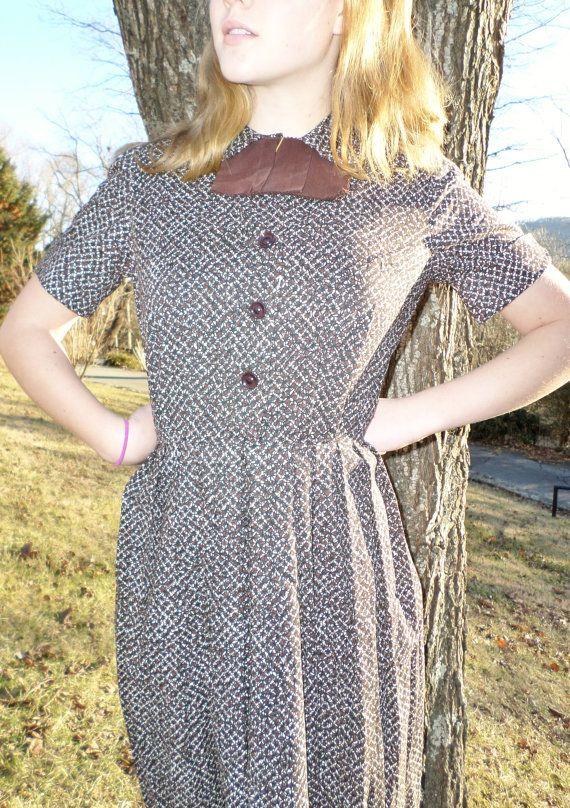 Vintage Clothing Ladies' Cotton 1950s Shirt by LowlandLovelies