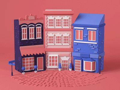 Buildings Building by Chris Guyot #Design Popular #Dribbble #shots