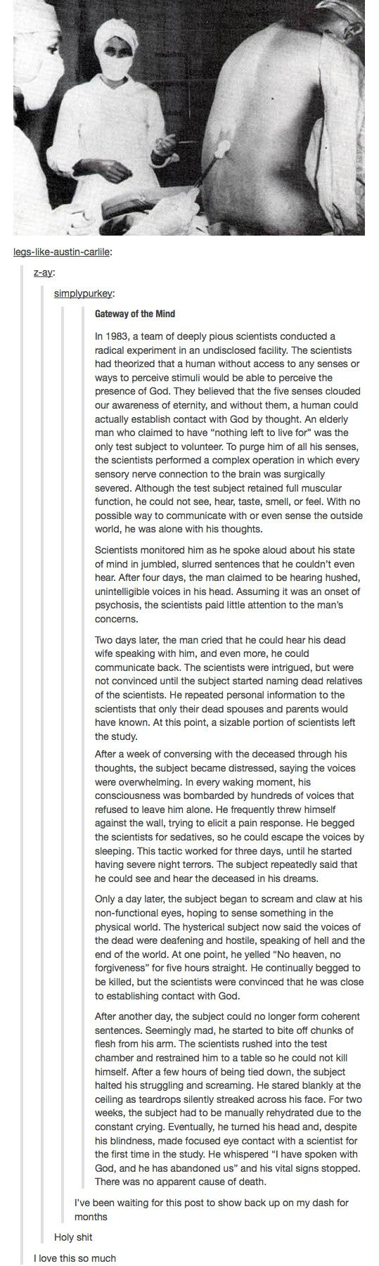 creepy...repining so i can research, anyone have any idea if this is fictional? EDIT: CREEPY PASTA CREEPING ME OUT! GREAT WRITING.