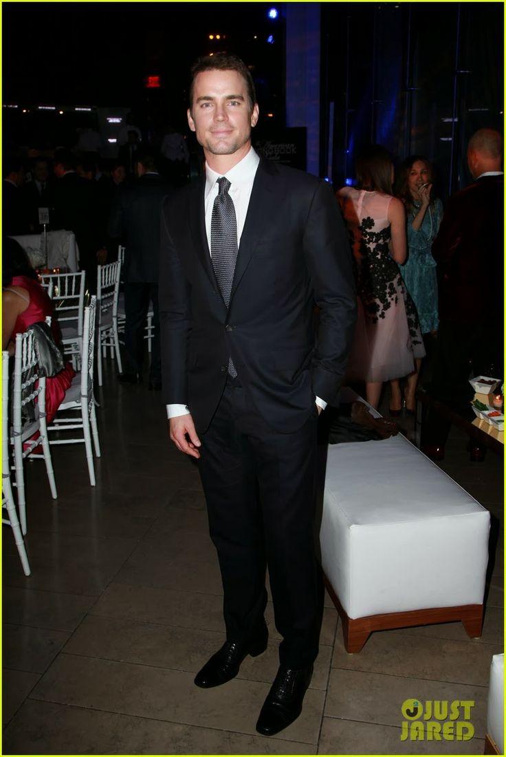 Matt Bomer at The Great American Songbook Gala honoring CAA talent agent Bryan Lourd