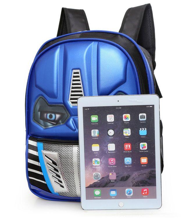 """Transformers Student Bag Backpack Children Kids 15.7"""" Reflective Lights Boy Girl #Unbranded #Backpack"""