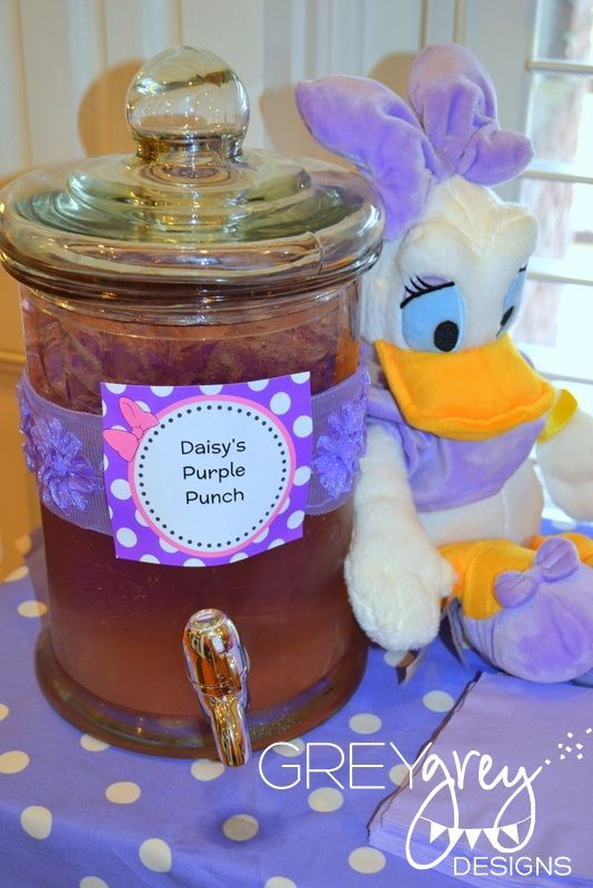 GreyGrey Designs: Emma Kate's Daisy Duck Party