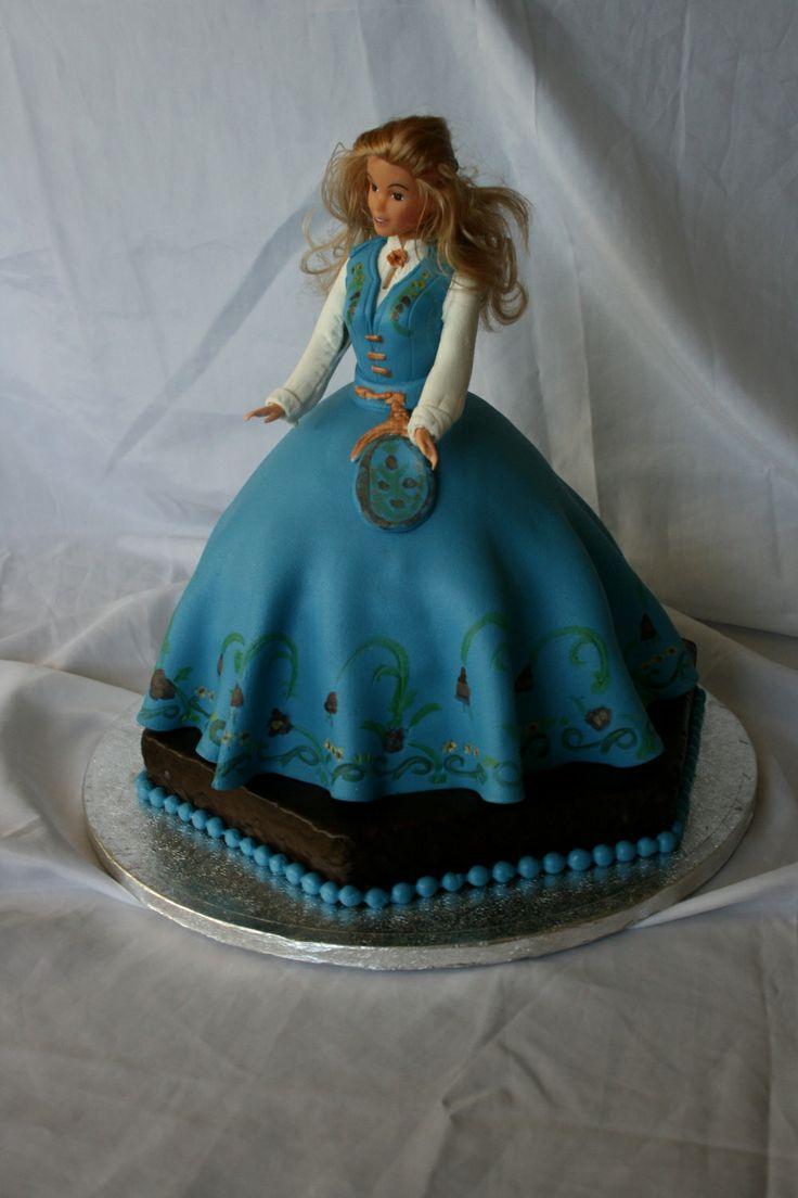 Barbiekake prinsessekake bunadskake VICTORIA