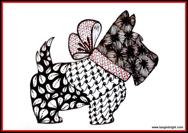 17 best images about art projects  zentangle animals on