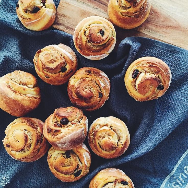 Sundays are for baking - my walnut & raisin scrolls!  have a great one!  by malmsburykitchen