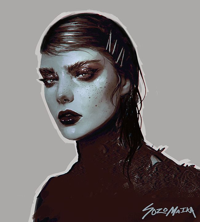 OXBLOOD, Maika Sozo on ArtStation at https://www.artstation.com/artwork/DQeeR