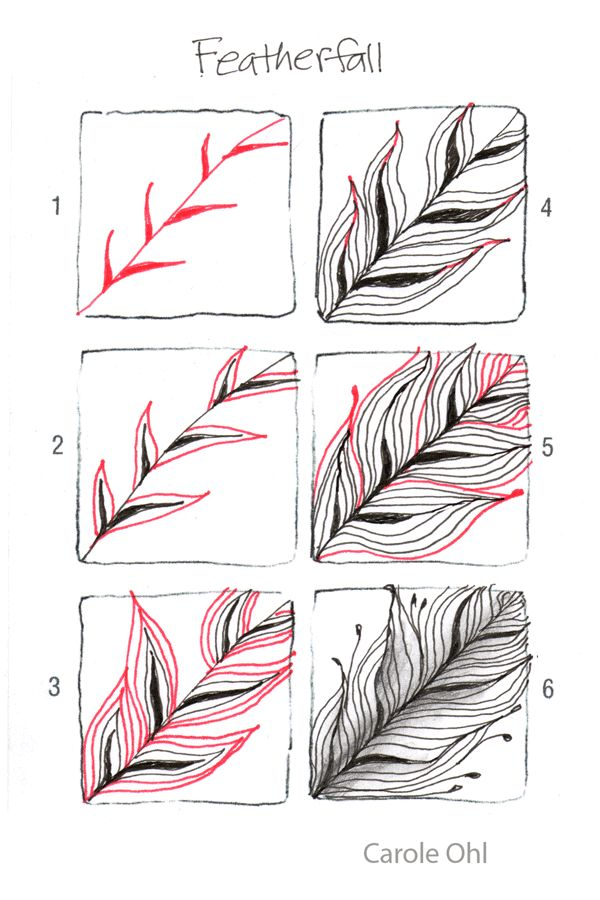 zentangle patterns how to draw
